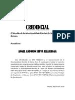 Credencial Grifo San Ignacio