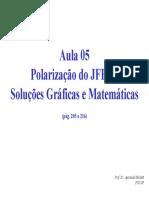 Polarização do JFET