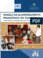 Modelo de Acompan Amiento Pedago Gico en Guatemala