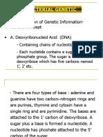 Bacterial Genetics 2