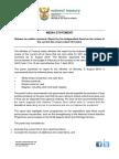 Media Statement - Release of VAT Panel Report