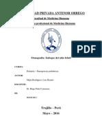 Monografía Fiebre