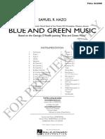 Blue Green Music