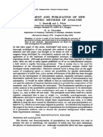Gravimetric Methods of Analysis