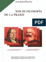 Principios de Filosofia de La Praxis. Parte 1