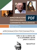 Aproximaciones  a la Personalidad desde Corrientes Psicológicas
