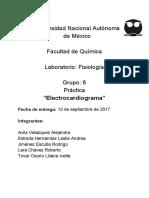 Fisio Práctica 3- Electrocardiograma