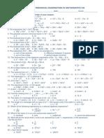 Math 8 First PT (Blue)
