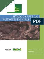 Estado Da Arte Das Pastagens Em Minas Gerais - INAES - MAPA 2015