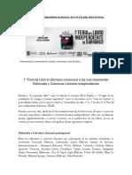 Nota de Prensa FLIB