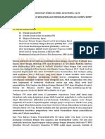 NOTULENSI KULWAP IYDRR 25042018 - Peran Pemuda Dalam Kesiapsiagaan Menghadapi Bencana Gempabumi