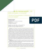 El arte de la conversacion