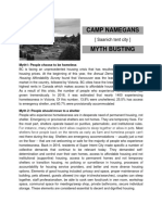 Camp Namegans Myth Busting
