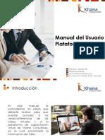 Manual de Usuario - Plataforma Zoom