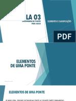 Aula 02 - Classificações e Elementos