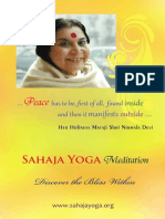Sahaja Yoga - An Introduction