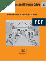 Gestión de los riesgos de catástrofe para los museos - Unesco.pdf