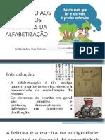 Histórico Da Alfabetização - Principal