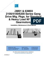 manual de conexion drive DORNER 63M0X series