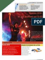 La Rotonde - Édition du 13 septembre 2010