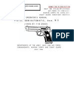Operator's Manual Pistol, Semiautomatic, 9mm, M9