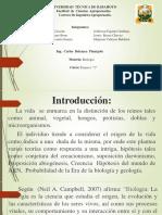 Diapositivas de Biología Eras de La Biología y Geología