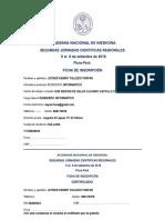 Ficha de Inscripcion 2018