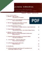 Revista Análisis Grupal Vol. II No.1 Marzo de 1984.pdf