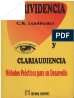 (C.W. Leadbeater) - Clarividencia y Clariaudiencia.pdf