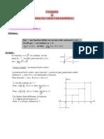 continuite theoreme valeurs intermediaires