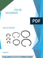 Elementos de Seguridad (anillos seger)