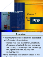 Chap 007 Risk of Financial Intermediaries