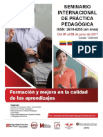 Memorias Seminario Internacional de Practicas Pedagógicas