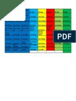 2018-2019 schedules - daily schedules