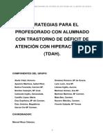 ESTRATEGIAS PARA EL PROFESORADO CON ALUMNADO CON TRASTORNO DE DÉFICIT DE ATENCIÓN CON HIPERACTIVIDAD (TDAH).pdf