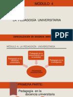 La Pedagogia Universitaria