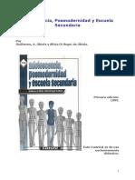 Adolescencia, Posmodernidad y Escuela Secundaria - Obiols, G. y Di Segnis de Obiols S.pdf