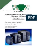 Micromaster 420 Guía Rapida