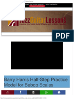 Jazz Guitar Lessons Barry Harris Workshop Advanced Bebop Exercises