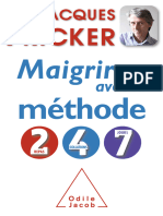 Maigrir Avec La Methode 2 4 7 Dr Jacques Fricker