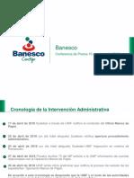 Presentación Banesco 10 AGOSTO 2018