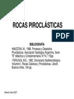Rocas Pirocl y Volcanismo (Filminas)