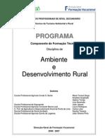 Ambiente e Desenvolvimento Rural