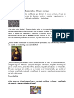 5-Características y Componentes Del Nuevo Currículo