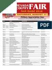 2018 Fair Daily Schedule Sat