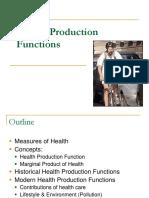 Intro to Health Economics