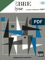 Algèbre Et Analyse. Classe 13-Lebossé C.,Hémery C.