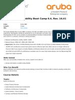 Aruba Mobility Boot Camp 6 4 Rev 16 41