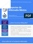 Wikimedia Mexico - Proyectos