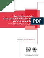 Derechos Sociales La Importancia de La Fiscalidad Para Su Exigibilidad. El Caso Del Tratamiento Tributario Al Alquiler de Vivienda en México